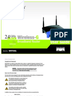 Manual Linksys WRT54GL