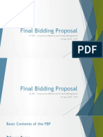 Final Bid Proposal