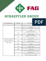 FAG bearings catalog