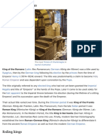 King of the Romans - Wikipedia