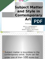 Group 2 CONTEMPORARY ART.pptx