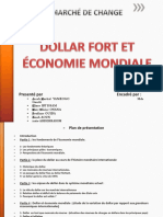 Dollar fort et économie mondiale