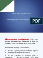 Part 3 ESP - Restoring ESP Dynamic Balance