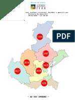 Coronavirus Veneto, la mappa dei Comuni