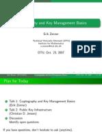 2007 Talk Crypto Basics