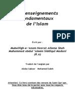Les enseignements fondamentaux de l'Islam