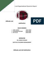 Attitude and Job Satisfaction MOD Report.docx