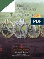 German Combat Badges of the Third Reich Vol 1 - Heer & Kriegsmarine