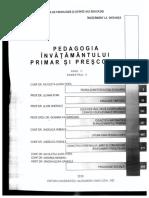Pedagogia Invatamantului Primar Si Prescolar 2019