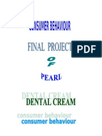 Consumer+Behaviour Dental Cream