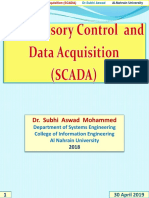 Supervisory Control and Data Acquisition (SCADA) Section3-2019
