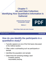 Ch. 7. Participants and Data Collection