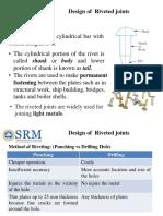 U-4_Design of Riveted  Joint_SRM