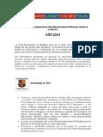Informe Penya Barcelonista de Móstoles