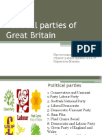 Political parties of Great Britain