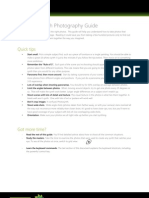 The Photosynth Photography Guide