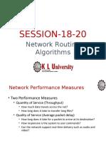 Session 18,19,20 NetworkAlgorithms