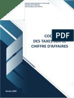 CODE DES TAXES SUR LE CHIFFRE D'AFFAIRES 2020