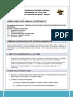Guía de asignación Mat IV DERIVADA EXACTA Y VARIABLES SEP.