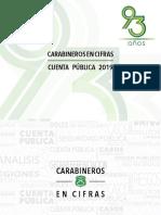 Cuenta Pública de Carabineros 2019