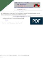 pro e html tutorial