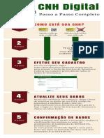 Detran Pa CNH Digital infografico