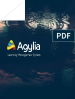Agylia. Learning Management System Brochure