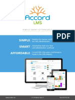 accord lms - product brochure
