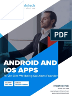 Android and iOS Apps for an Elite Wellbeing Solutions Provider