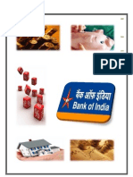 A Report on Bank Of India
