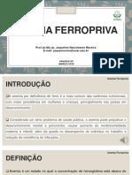 Aula 5 - Anemia Ferropriva e Hipovitaminose A