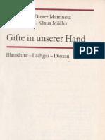 Gifte in Unserer Hand - Dieter Martinetz