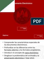 Seminario documento electrónico