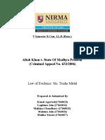 Aftab Khan v. State Of Madhya Pradesh- Division C