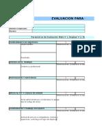 Evaluacion Planta