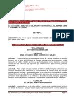 Ley de educacion Oaxaca