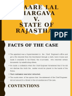Pyaare Lal Bhargava v. State of Rajasthan__Final01