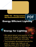 12. Efficient Lighting