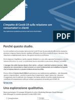 Covid-19 e Relazione Con Il Cliente