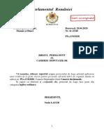 Amendamente Lege Chirii
