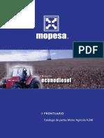 CATALOGO MOPESA DE PARTES MOTORES AGRICOLAS