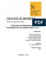 PROCESO DE PERFORACION Y VOLADURA- 1