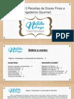 E-book – Receitas de Doces Finos e brigadeiros gourmet