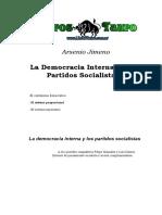 Jimeno, Arsenio - La Democracia Interna En Los Partidos Socialistas
