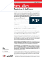 Ferro Alloys Sector Report 2May08