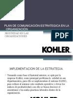 PLAN DE COMUNICACIÓN ESTRATEGICA EN LA    ORGANIZACIÓN