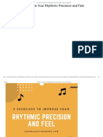 5 Exercises Improve Rhythmic Precision and Feel