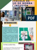 Protocolo de manejo de bomba de infusión