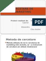 Cercetare de Marketing