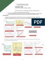 Reconocimiento de la función lineal y afín guia1